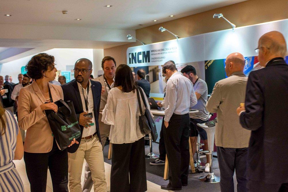 eID Conference 1st Day Coffee Breaks
