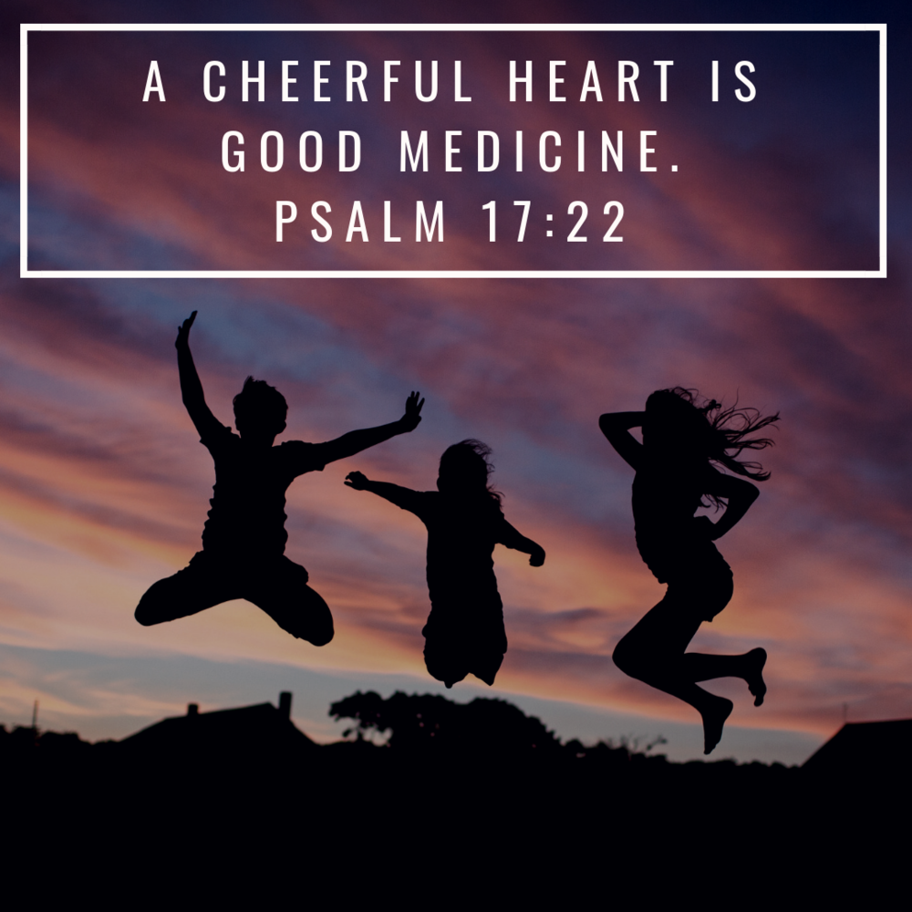 A cheerful heart is good Medicine.Psalm 17_22.png