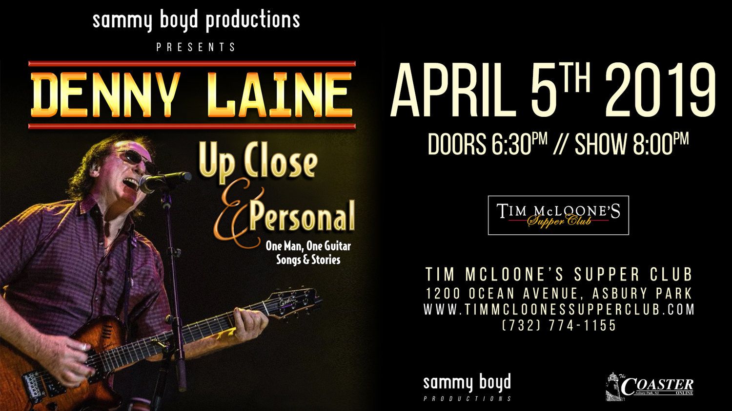 Denny Laine: Founding Member of the Moody Blues & Wings — SBP