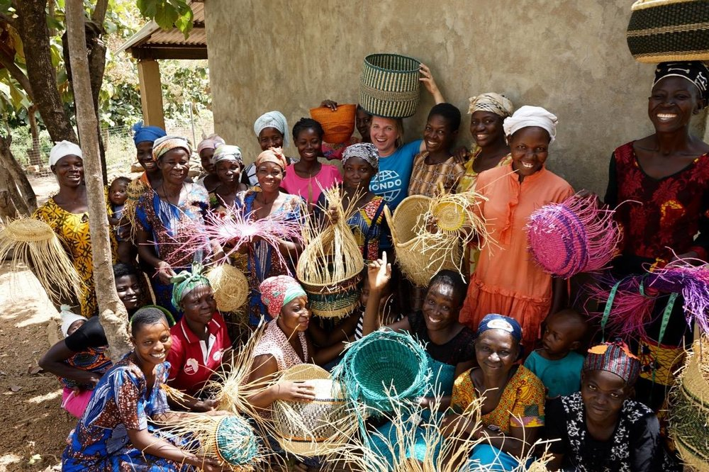 About the Founder - Mamaa Trade was founded by Johanna Helin, who has a long personal history working with women's cooperatives in Africa. She has worked for UNICEF and is a founding member of Estonian Development NGO Mondo which helps women in different deprived communities find local income-generating activities. After moving to Canada she continues to support these women's groups by offering their products market access.
