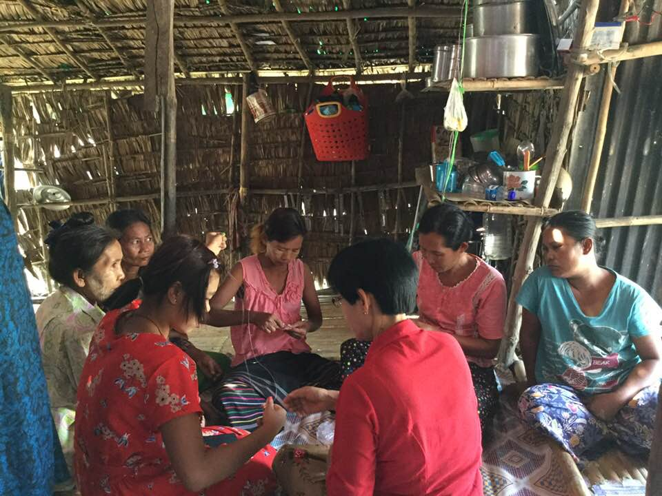 ASIA - Tirzah's leaders in this region train poor women in dress-making and tailoring.