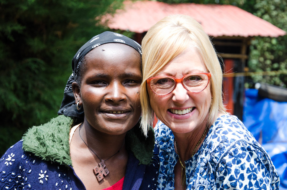 KENYA - This program provides emotional, physical, spiritual and psychological support to women in the Kibera Slum who are living with HIV. During Homecare meetings, the staff addresses the violence many of the women have faced and connects the women with trained counselors who volunteer with Homecare.