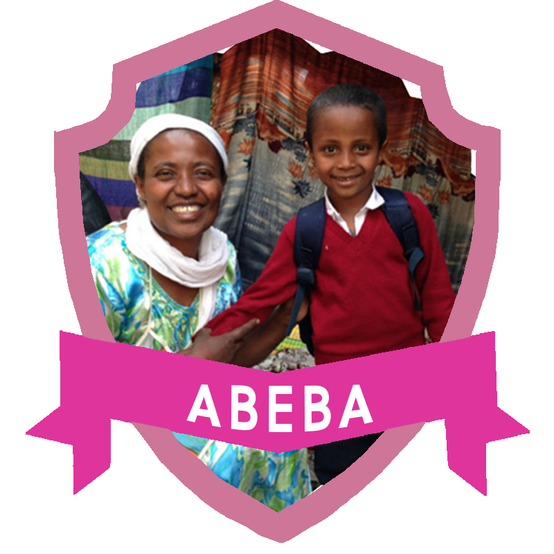 Abeba* is now able to run her own coffee shop and her son receives tutoring and school supplies from the program.  * Real name changed to protect her identity