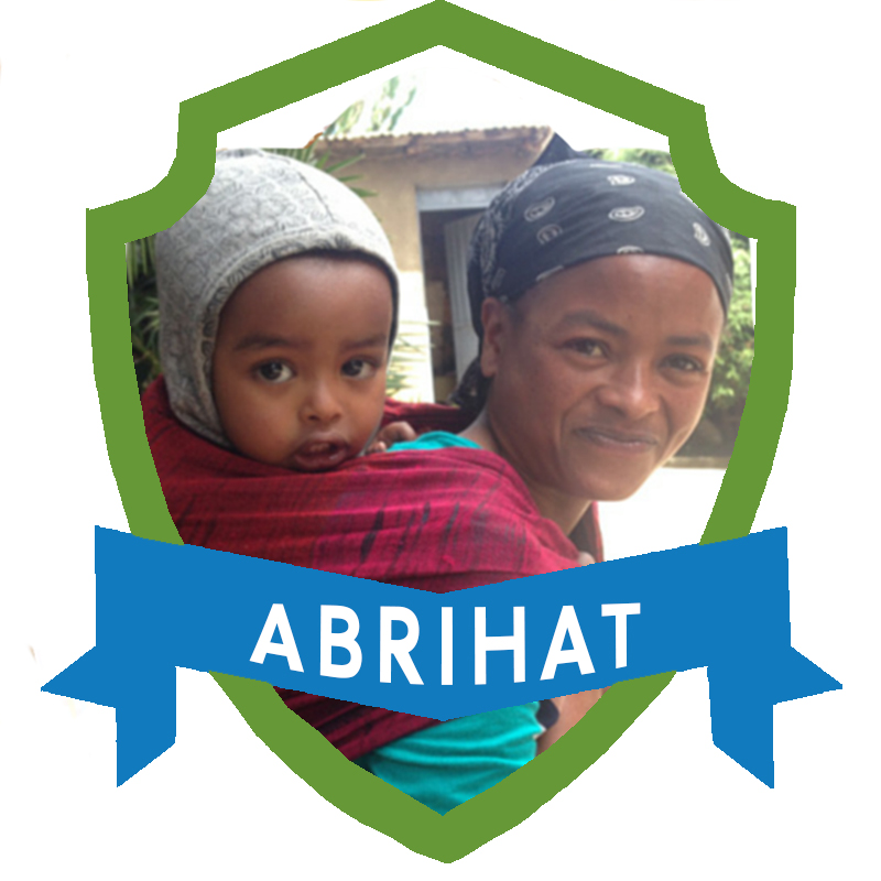 """Abrihat* runs a vegetable stand and says, """"I'm so happy! I now get enough and with a good profit so that I can support my family well."""" When her son is old enough, he will be able to go to school and have his fees covered."""