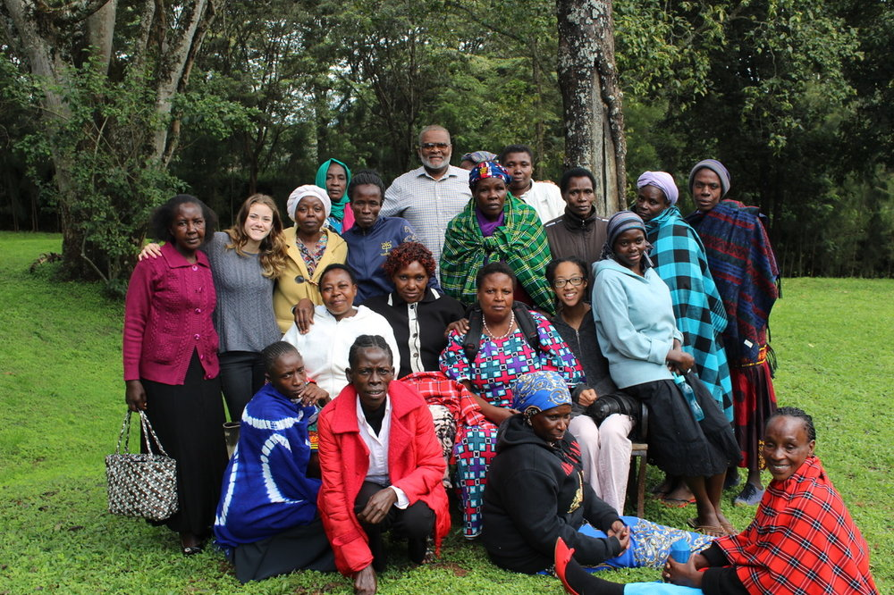 Kenya - Meeting with the Fadhili women and our partners at Homecare Kenya.