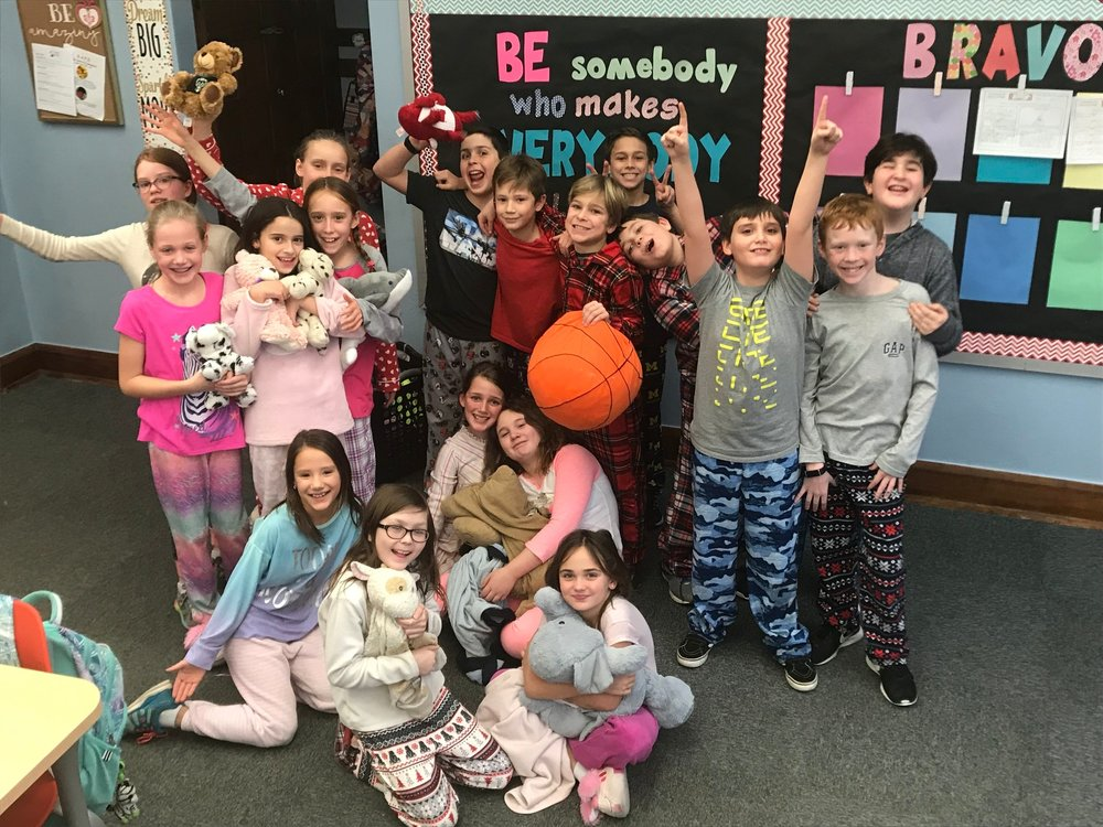Pajama Day….finally!