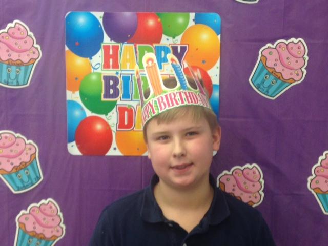 We will be celebrating Jack's Birthday on Thursday! -