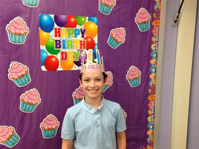 Happy Birthday to Thomas and Elizabeth!!