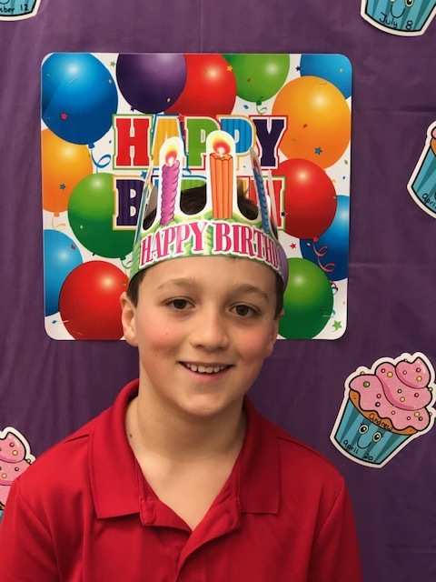 Happy Birthday to Andrew on April 20. We will celebrate on April 17. Jake will celebrate his birthday when we come back from break on April 30. His actual birthday date is April 23.