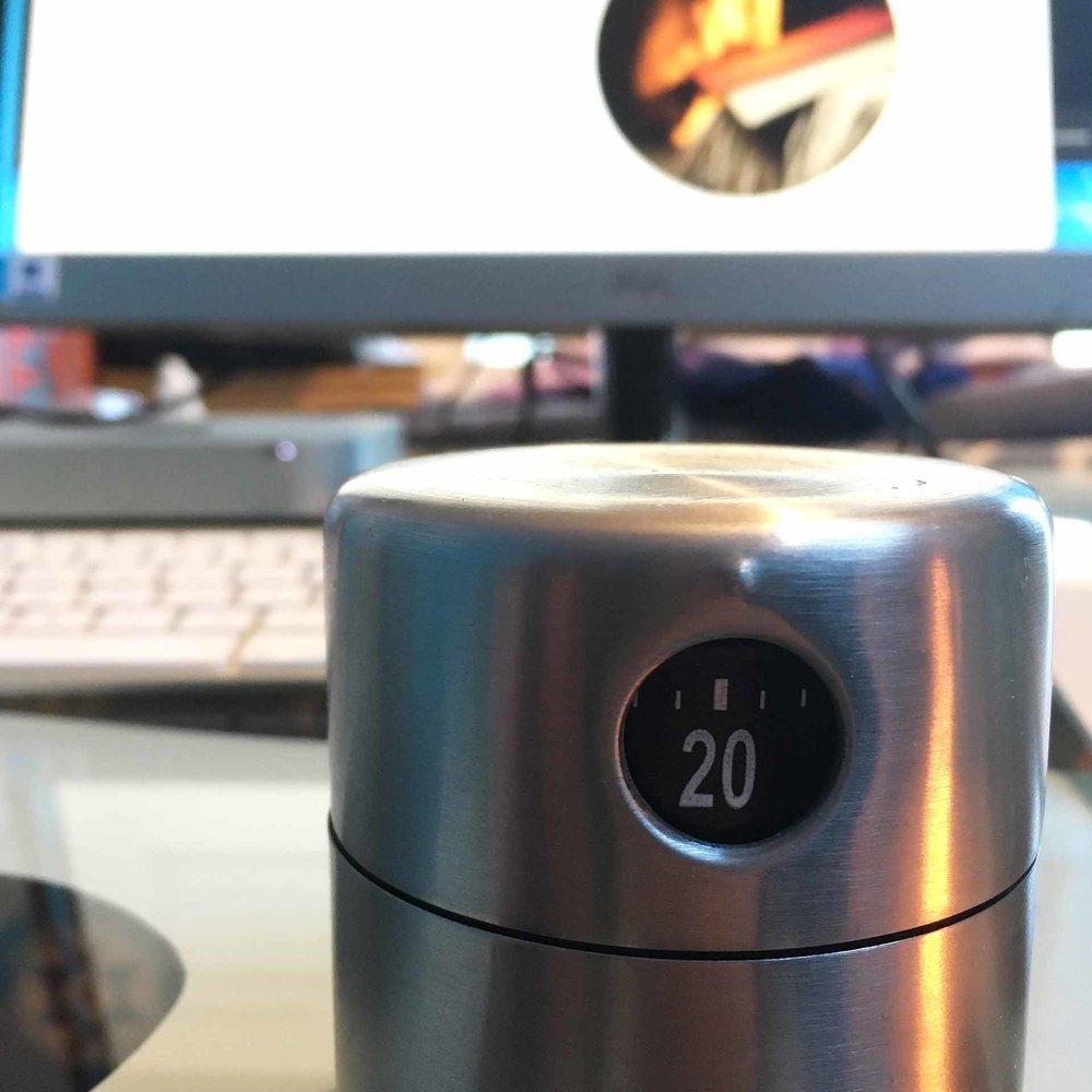 Timer on my desk