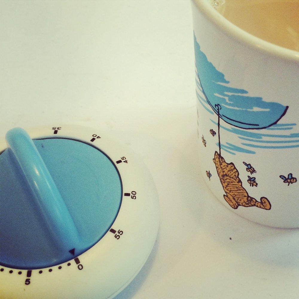 Timer and tea