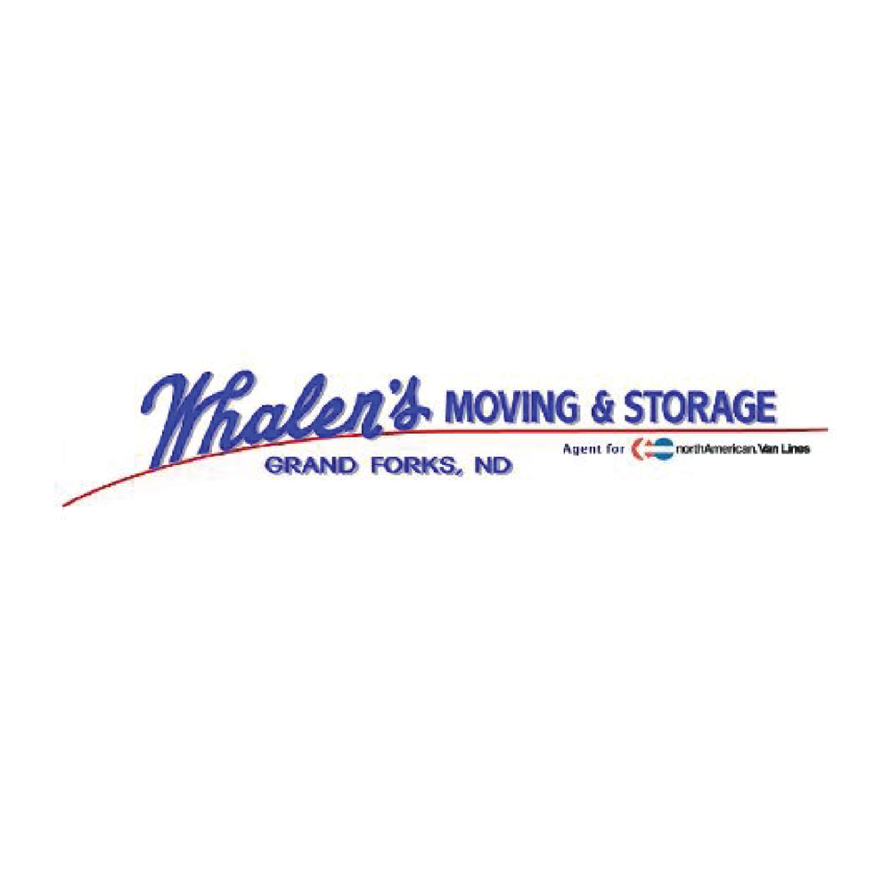 Whalen's Moving & Storage   900 1st Ave N Grand Forks, ND 58203  701-775-5557
