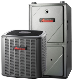 Forced Air Heating System  This is the most common heating system found, and would qualify for all types of financing.