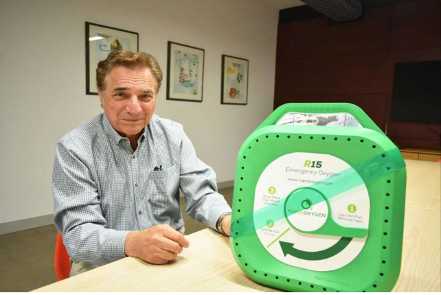 In Stamford, Pulmonary Expert Readies AED Companion - Stamford Advocate, CT Post, Greenwich Times, The Norwalk Hour: August 5, 2018It is a lifesaving device that one conglomerate alone has shipped out nearly 2 million units globally, with states like Connecticut having mandated the purchase of automated...