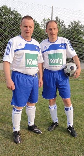 Heinz und Frank  im neuen Dress.JPG