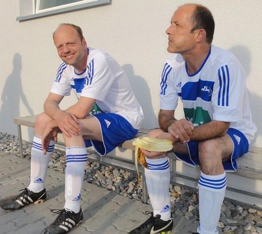 Kleine Staerkung vor dem Match, ohne Flecken!.JPG