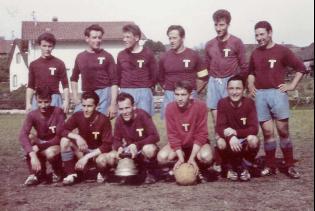 Erste 3. Liga Mannschaft des FC Rubigen