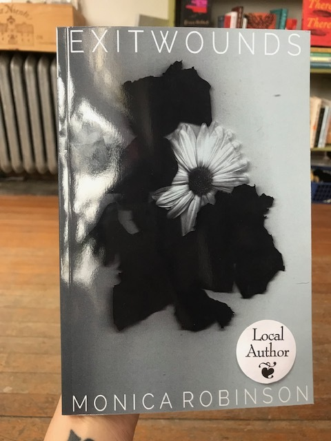 Written for herself and no one else, this original collection of poetry, art, and photography is Monica Robinson's ode. Don't miss this swoon-worthy local writing.