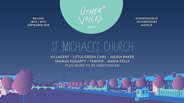 Absolutely over the moon to be finally bringing the live show out west to @othervoiceslive • Can't bloody wait for this one. Gwan ye beaut rx