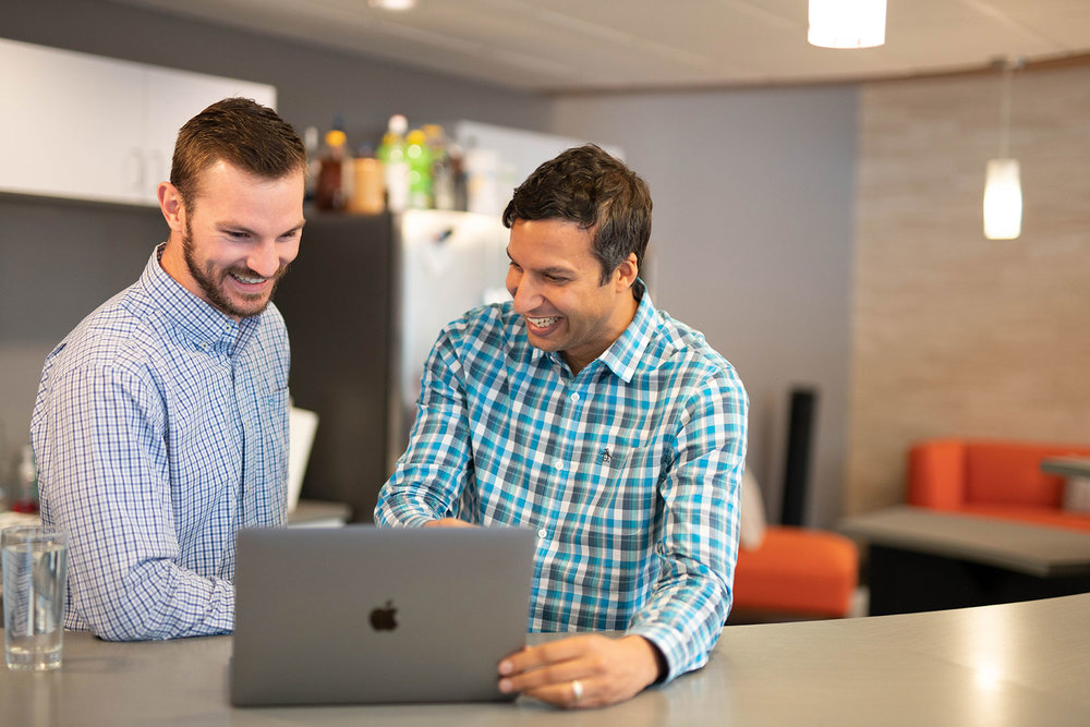 Careers - Our employees receive a top-notch benefits package, paid vacation, paid maternity and paternity leave, stock options, and perks like frequent happy hours, locally roasted coffee every day, healthy snacks, and a work experience you'll never forget. If you think this sounds like your kind of place then send us a note at jobs@p2bi.com and introduce yourself.Or, find out more about joining our team here.