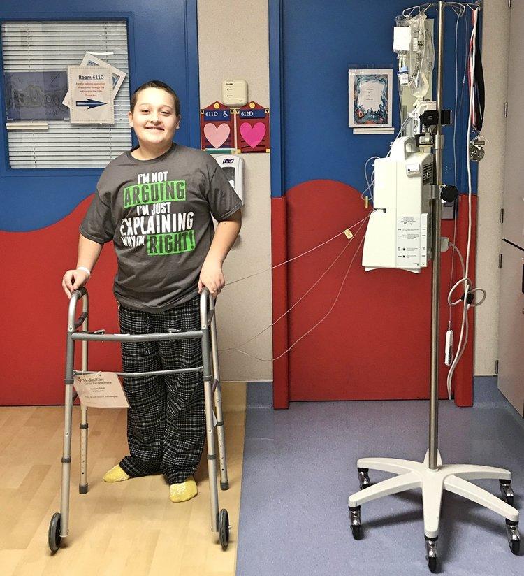 MMS Hero Battles Rare Bone Cancer — MurphyMessenger