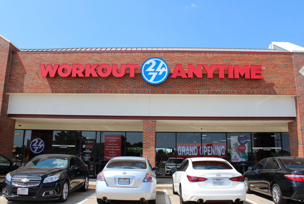 Workout Anytime is located at 4101 E. Park Blvd
