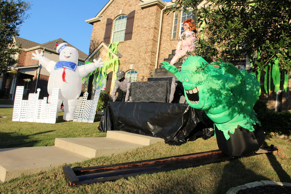 On Halloween, the Snopik's will be in costumes and welcome photos at their home located at 601 Twin Valley Drive.