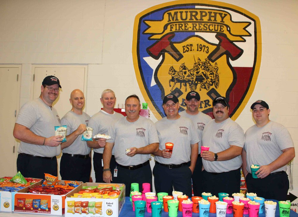 Murphy firefighters were very hospitable as they welcomed guests to the station.