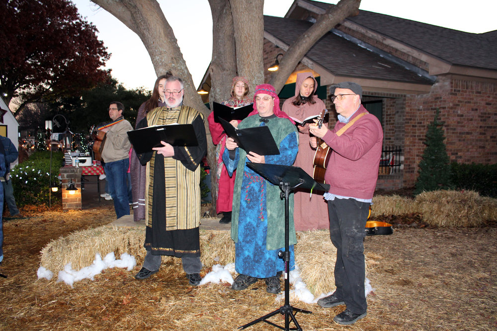 Approximately 80 volunteers helped with Old Towne Christmas.