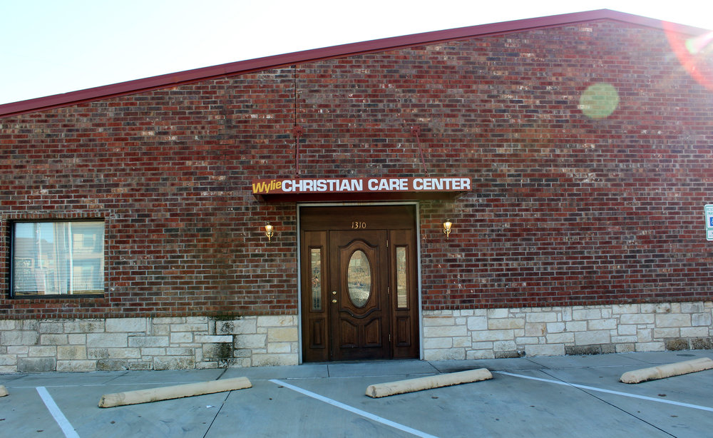 Wylie Community Christian Care Center is located at 1310 W. Brown St. in Wylie.
