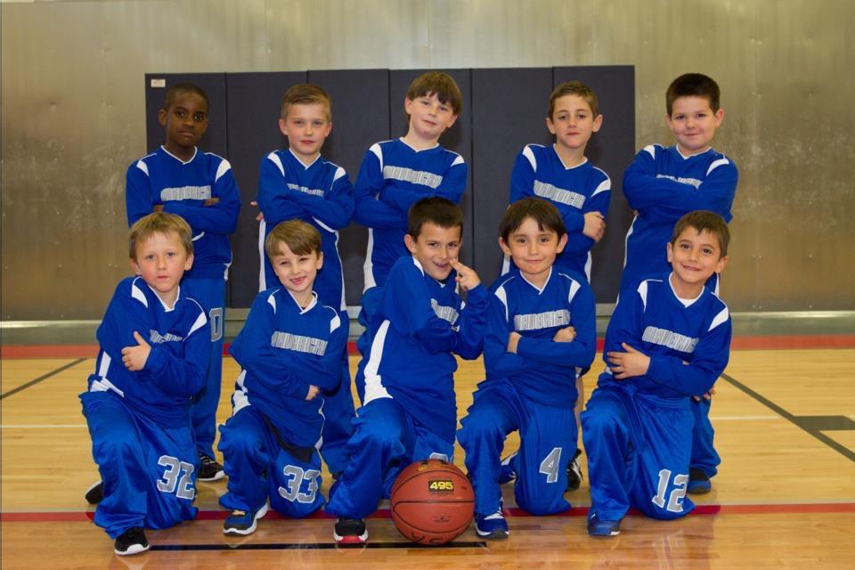 Mavericks team in 1st grade.