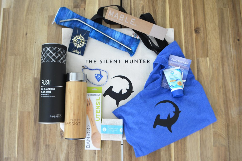 Our expedition ecofriendly goodie bag