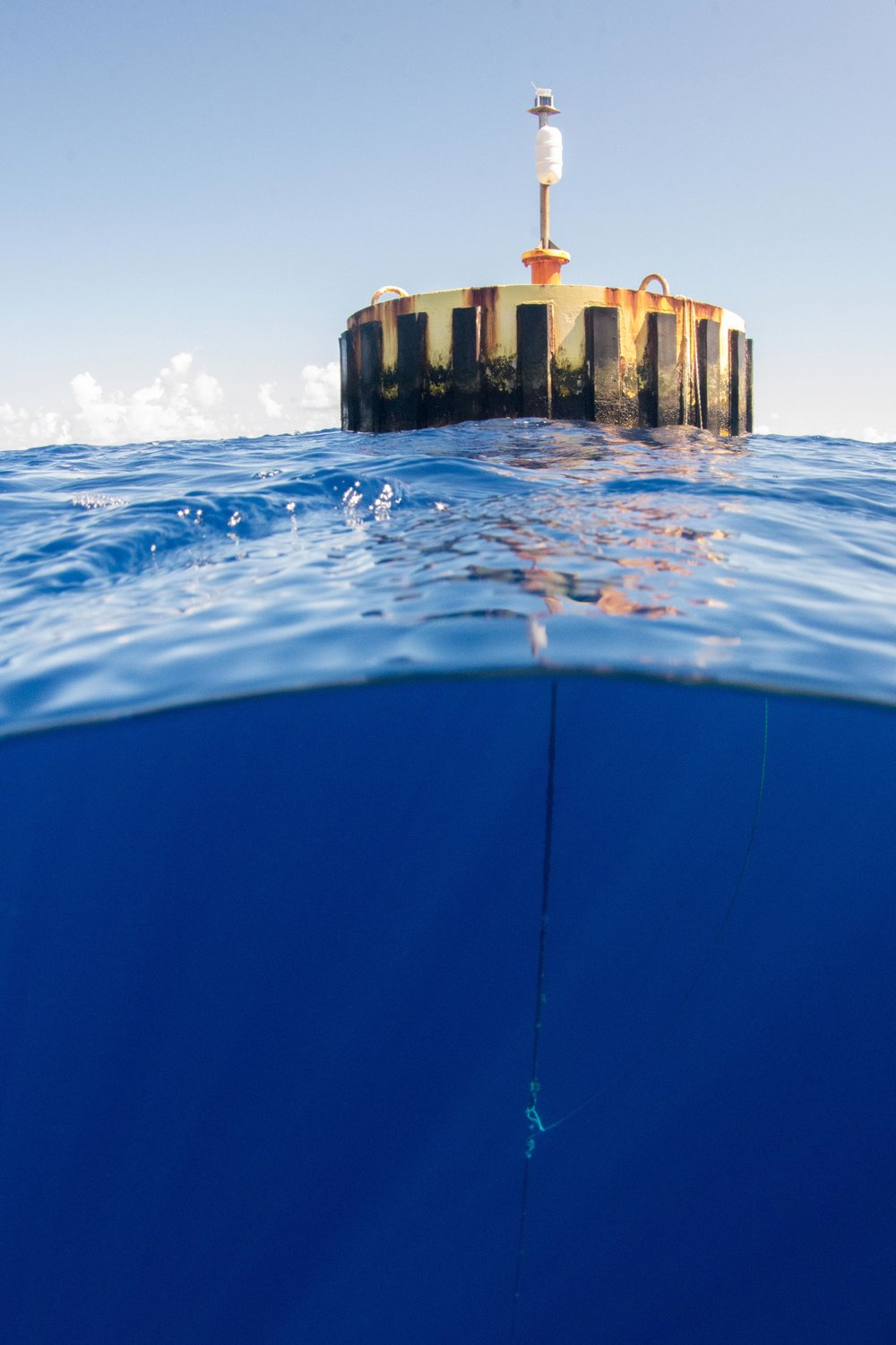 The famous Andros navy buoy