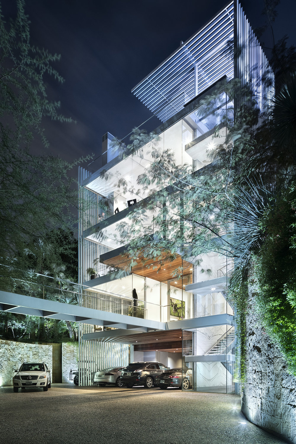 Vertical House