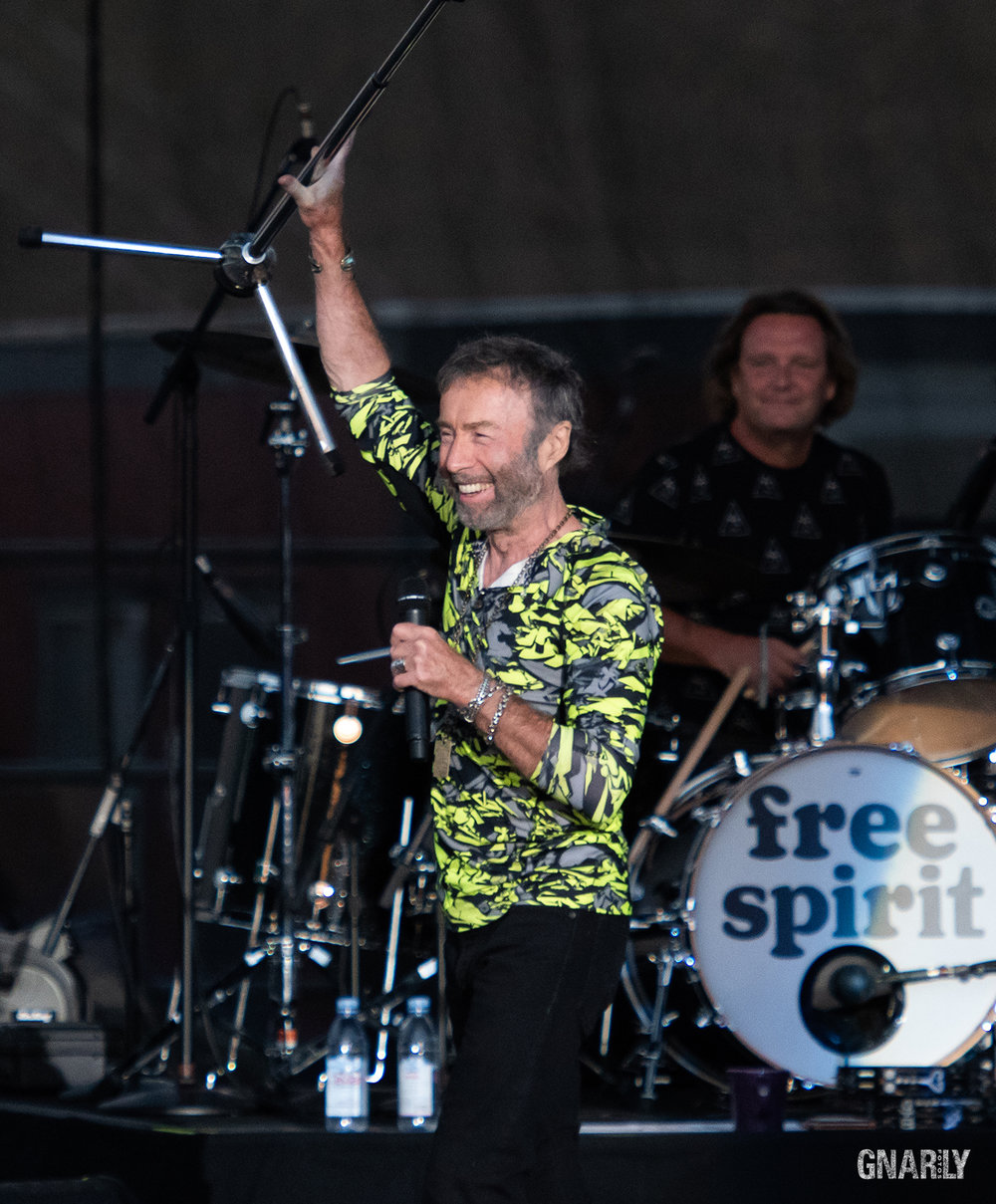 Paul Rodgers July 20, 2018 Five Points Amphitheater Irvine, California