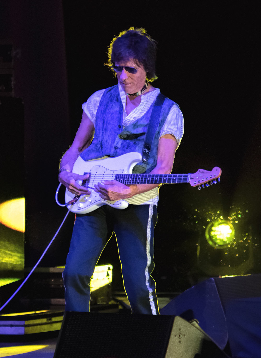 Jeff Beck July 20, 2018 Five Points Amphitheater Irvine, California