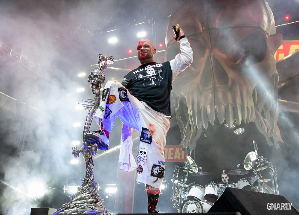 Ivan Moody Five Finger Death Punch July 27, 2018 FivePoint Amphitheater Irvine, California