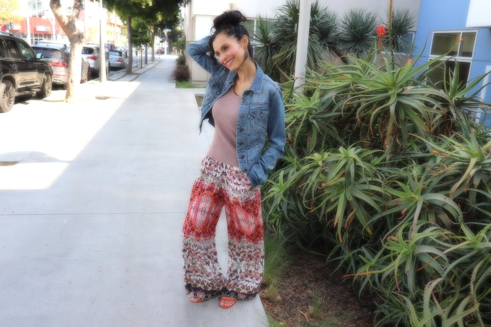 Complete outfit from a thrift shop in Santa Monica...shoes and all!  Photography by: Luvia Castaneda