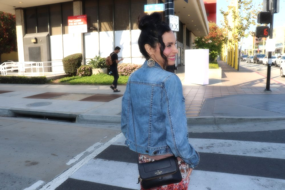 Quick Luvia! Take a picture and let's try not to get hit by a car.  Photography by: Luvia Castaneda