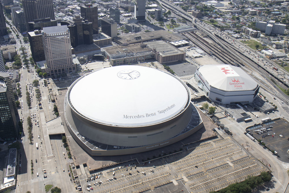 New Orleans Superdome Stadium