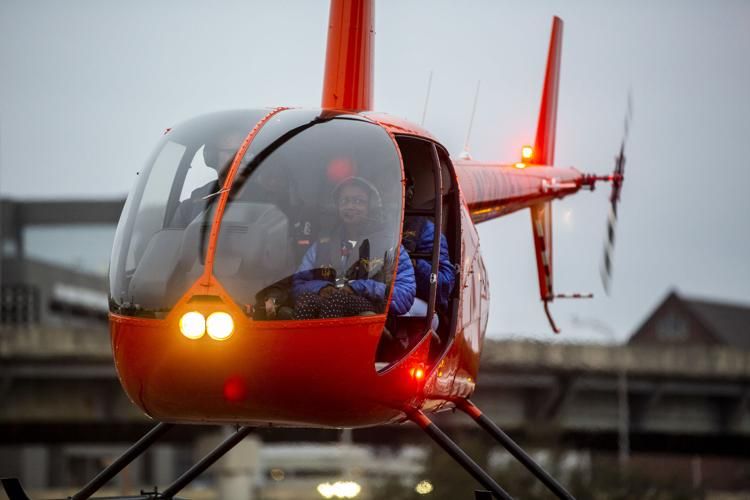 ADRENALINE PACKAGE ADD ON  -  $10.00 Per Ticket    For the adrenaline junkies! Fly with the doors off the helicopter. Your pilot will maneuver 30-degree bank turns - going twice as fast and twice as high!
