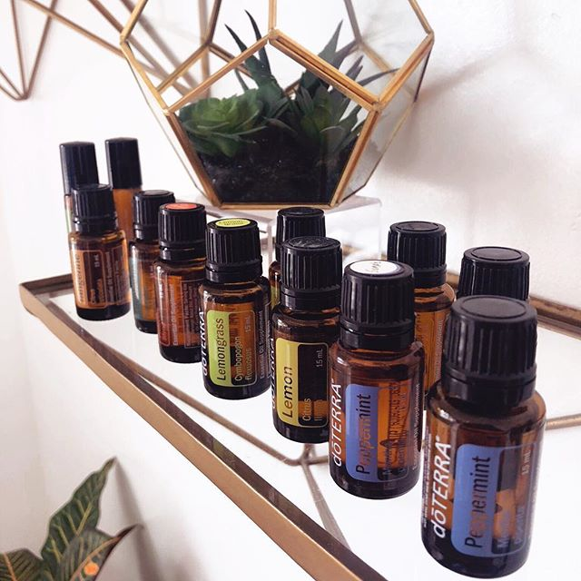 We love @doterra essential oils! Essential oils have so many benefits, some of which include anxiety & stress relief, massage, pain relief, etc. There are so many different scents, but, these are some of our personal favorites!