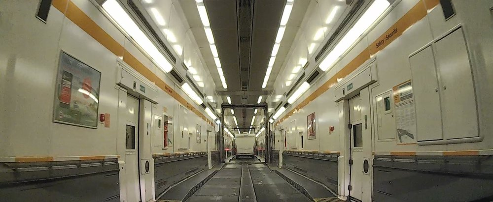 Eurotunnel Train Or Ferry To France
