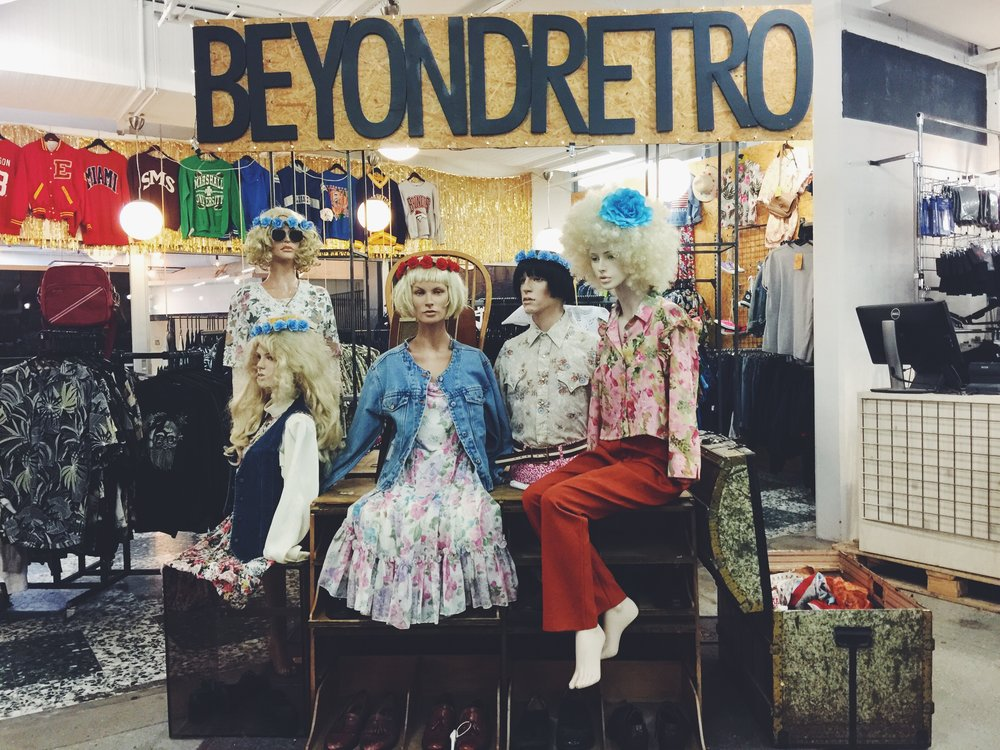 Beyond Retro is one of the clothing stores in Mitt Möllan where you can find tons of fun quirky vintage pieces.