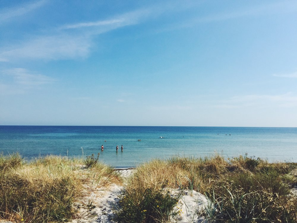 Falsterbo beach has become my most favorite beach so far. Such a little heaven.