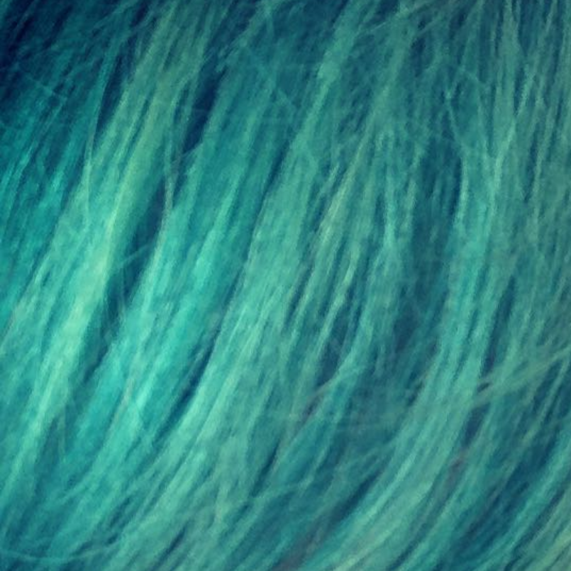 Close-up of my hair color