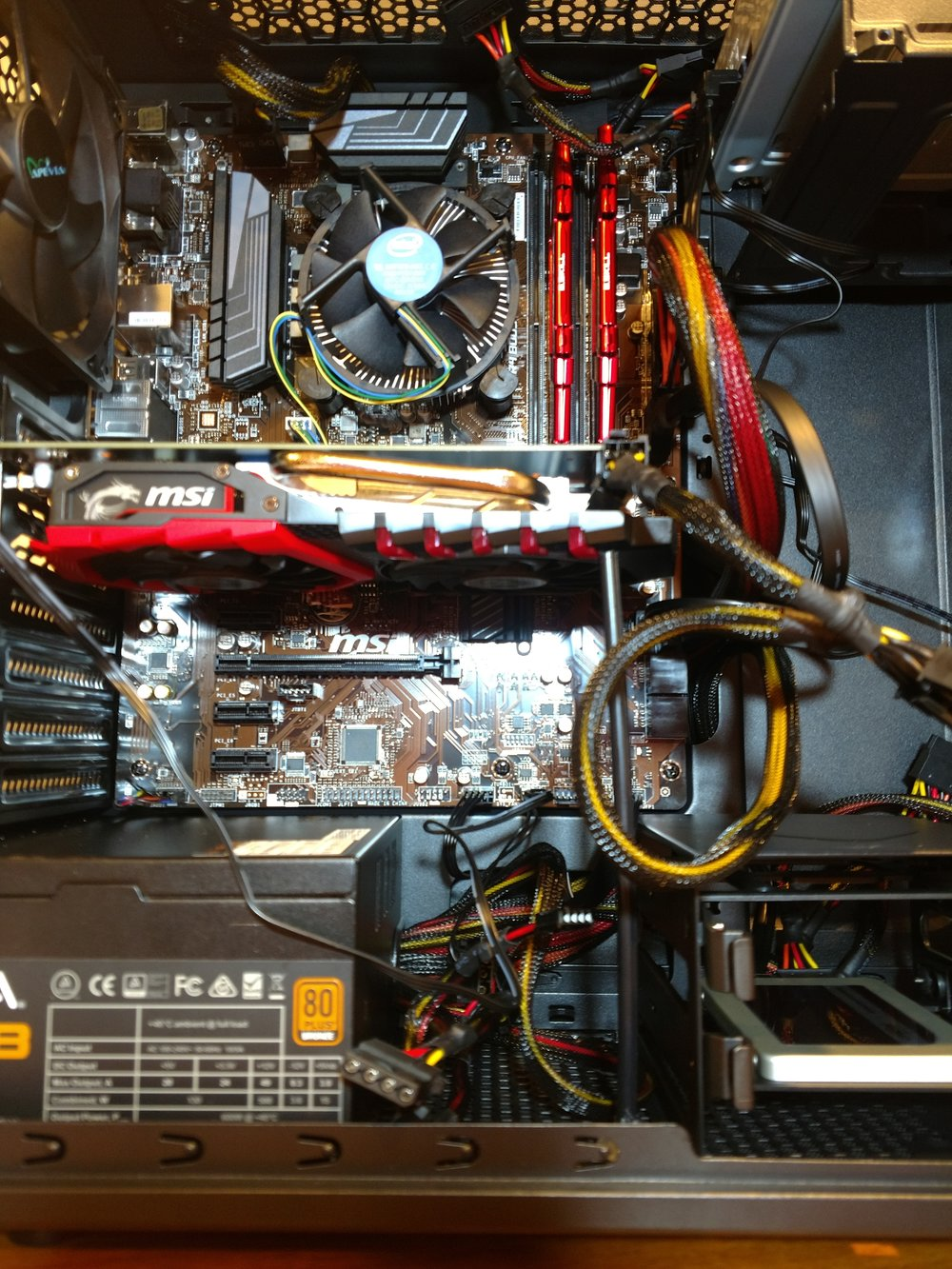 This is a photo of my computer's guts