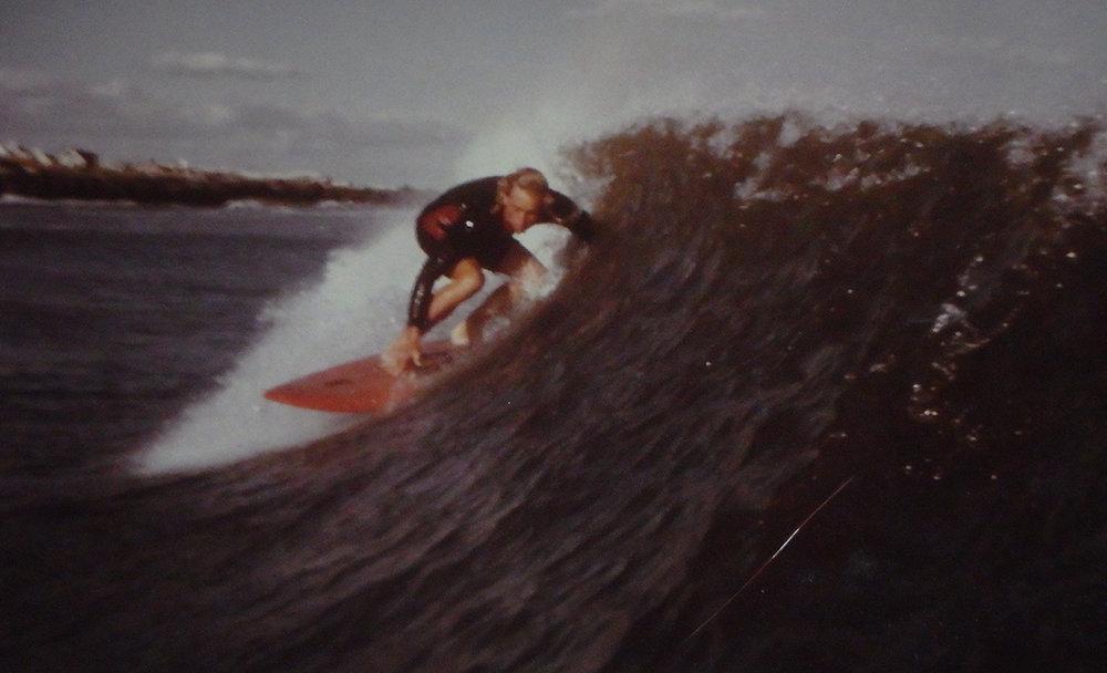 Ray 'Raisin' Defrehn, Holyoke Ave, Beach Haven, 1971. Photo: John Ker.