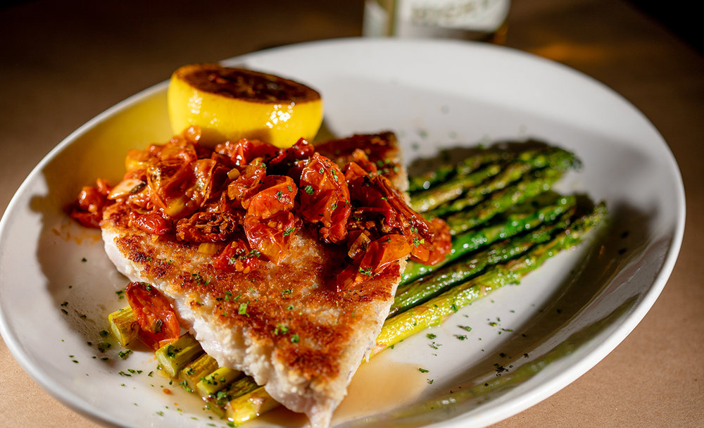 The kitchen continues to put out fantastic specials like this swordfish. Photo: Ryan Johnson.