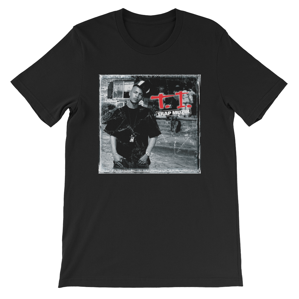 Trap Muzik Album Cover Tee (Black) - Trap Muzik Album Cover Tee (Black)100% Cotton